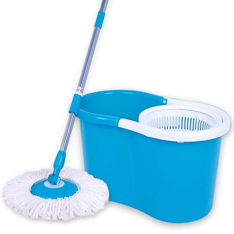 Spin Mop Magic 360 Rotating With 2 Mop Heads Household ~Fast Delivery~