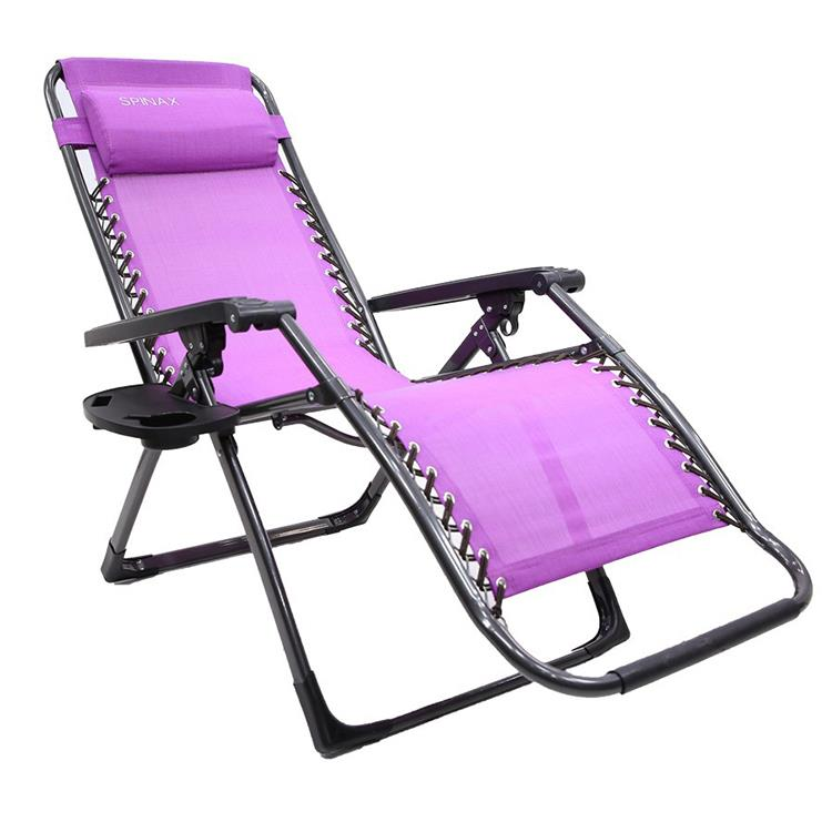 Spinax Zero Gravity Lounge Chair Portable Folding Chair Kerusi Lipat