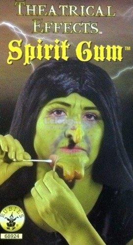 Spirit Gum,Theatrical Durable Strong Adhesive,Quick Drying,Beards Wig