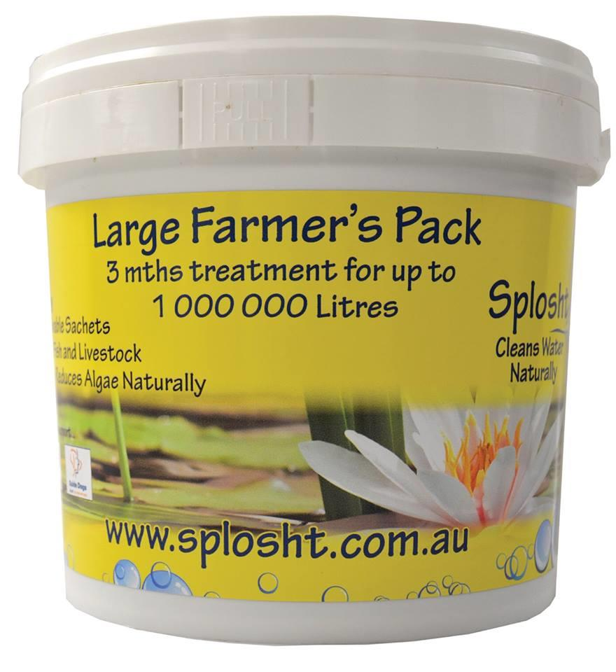 Splosht Water Clarifier And Cleaner (Non Filter) - Large Farmers Pack