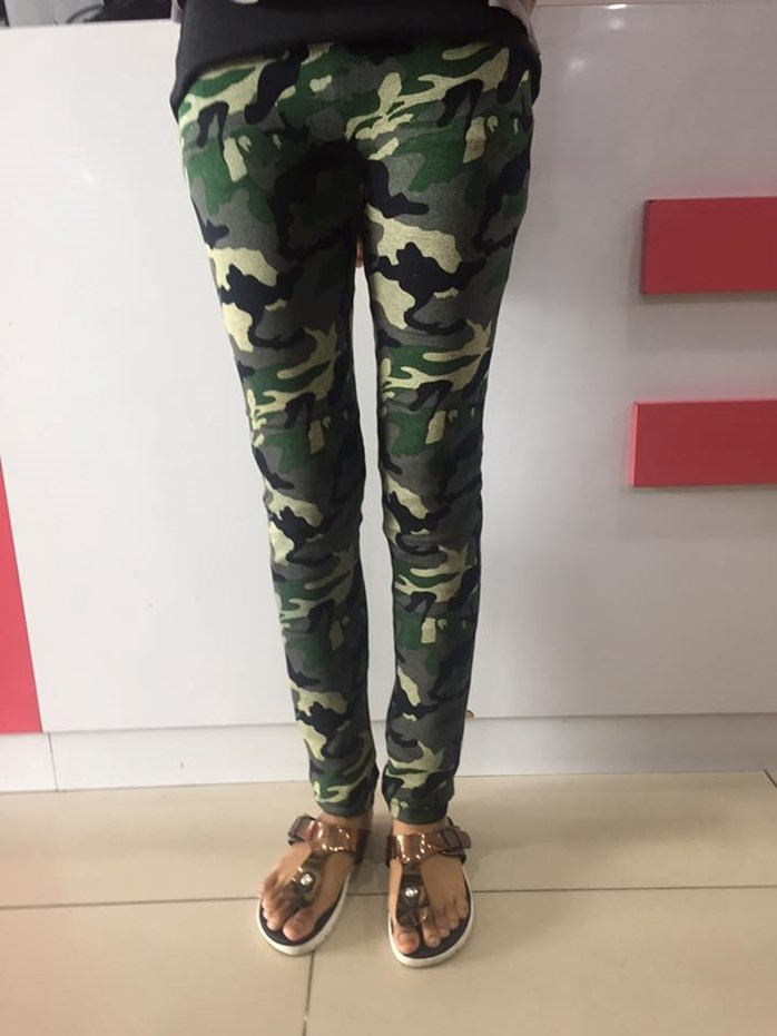 Sport Pants - Army Pattern