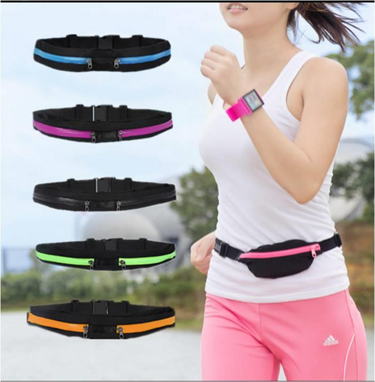 Sport Pouch Waist Bag For Running Cycling Gym Marathon Jogging