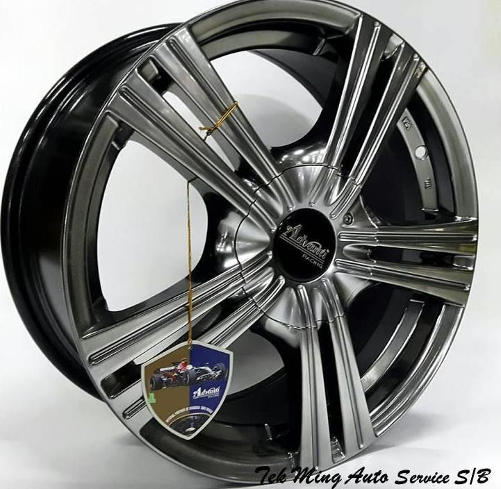 New Sport Rim Advanti MI501 Suit For Myvi City Alza Persona Gen2
