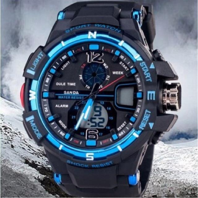 Sport watches men fashion water resistant  jam tangan lelaki. ‹ › e397ab0a0a