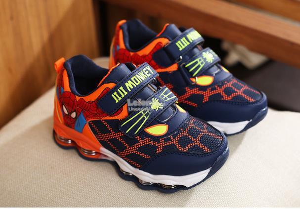 Sprider Man Kids Boys Sport Shoes (D