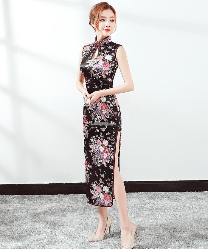 New Spring 2018 - Sleeveless Cheongsam