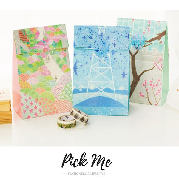 Spring Collection Gift Bags Set (3pcs)