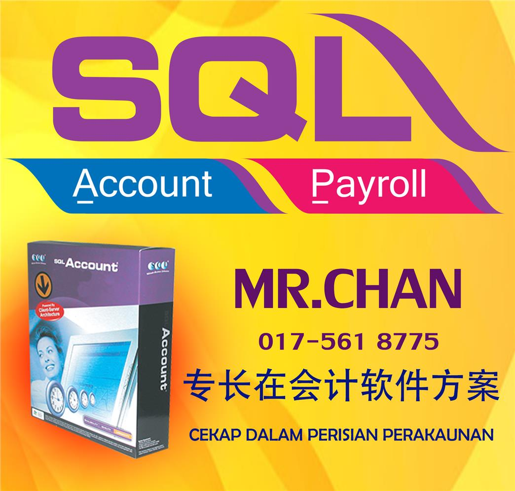 SQL Accounting Software Training (Ipoh Area)