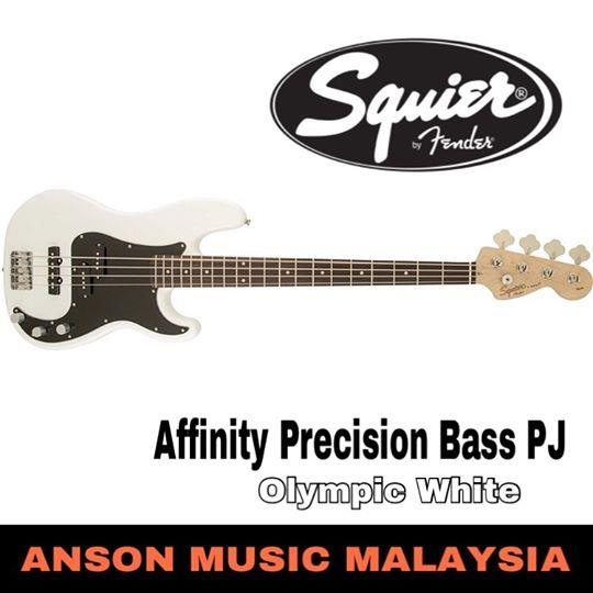 Squier Affinity Precision Bass PJ, Olympic White