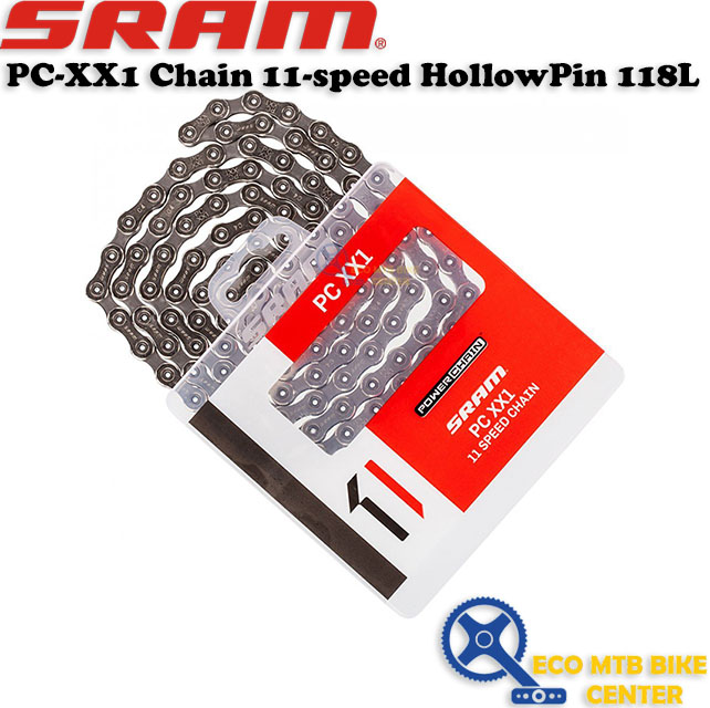 SRAM PC-XX1 Chain 11-speed PowerLock HollowPin 118L