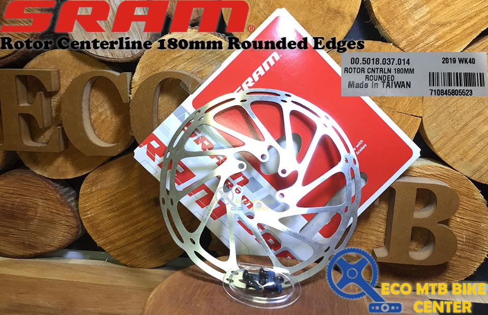 SRAM Rotor Centerline 160/180/200 Rounded Edges
