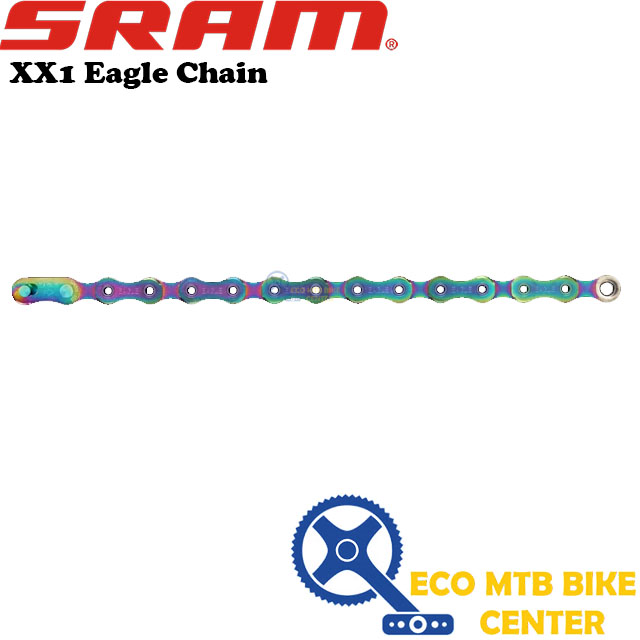 SRAM XX1 Eagle Chain (Rainbow)