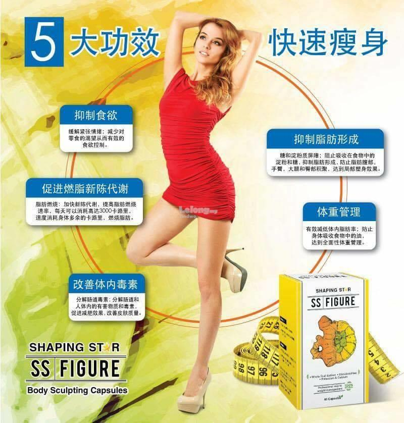 SS Figure Shaping Star Slimming Body Sculpting 瘦身&#23004..