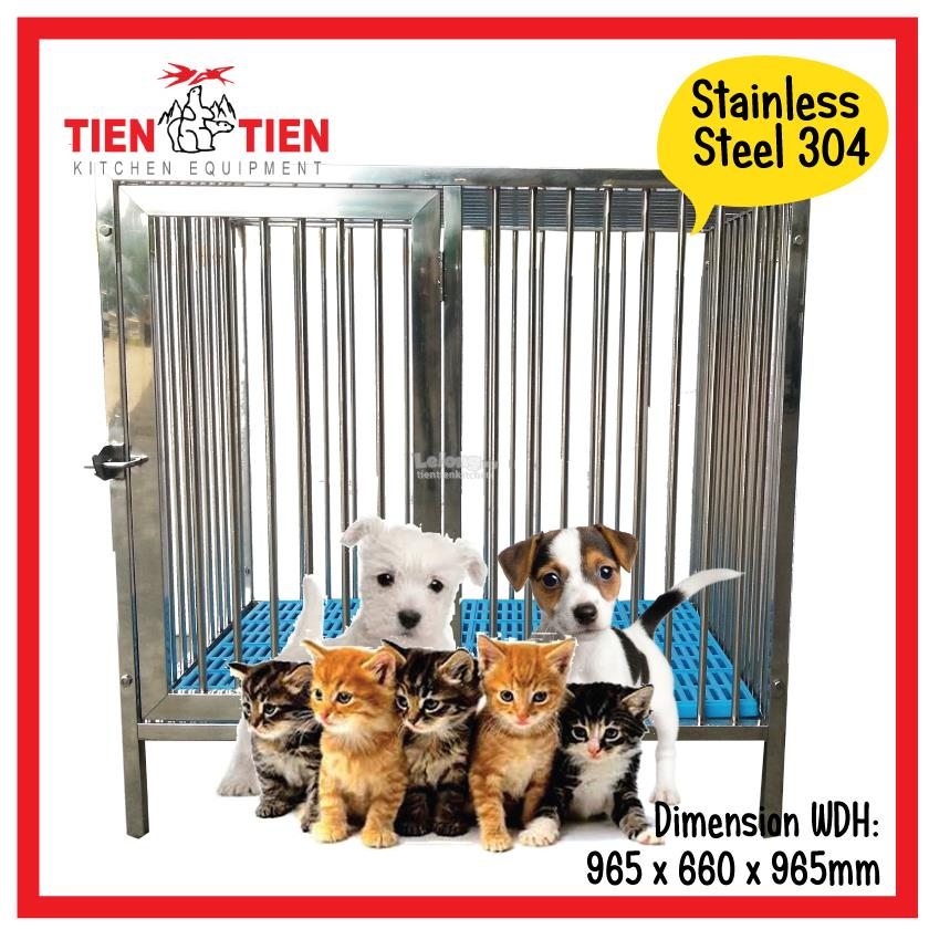 SS/OT04 TIEN TIEN Stainless Steel 304 Pet Cage