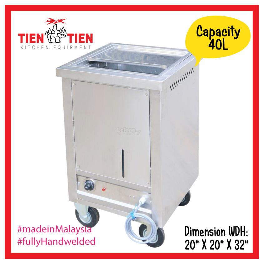 SS/ST08 TIEN TIEN Stainless Steel Rice Warmer (Electric)