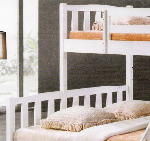 SS198BB Single Over Queen Size Wooden Bunk Bed