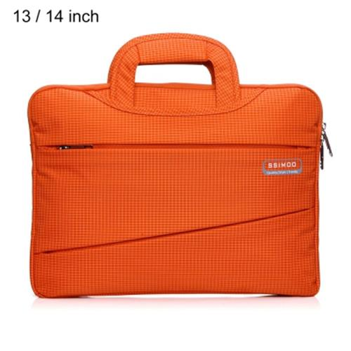 SSIMOO 2 IN 1 BUSINESS STYLE LAPTOP BAG TABLET ZIPPER POUCH SLEEVE