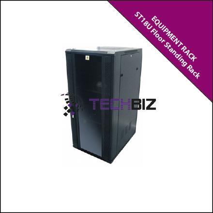 ST18U 18U Standard Floor Standing 800mm Depth Rack
