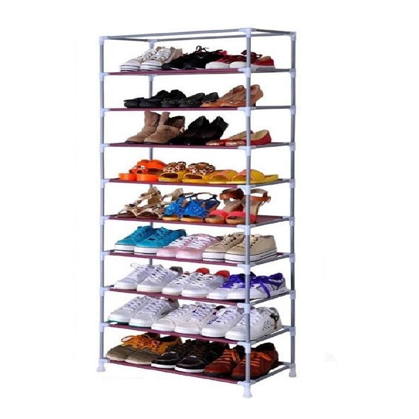 Stackable Shoe Cabinet 10 Tier 9 Col End 3252020 238 Am