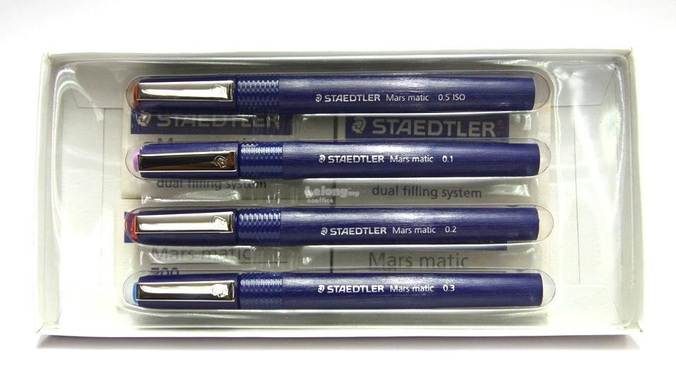 STAEDTLER Mars matic 700 Technical Drawing Pen 4pcs