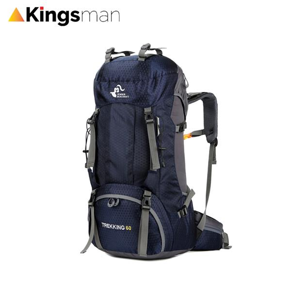 4dd1da430bdb  Stag-Out  Large Capacity 60L Blue Hiking Fashion Backpack Free Knight