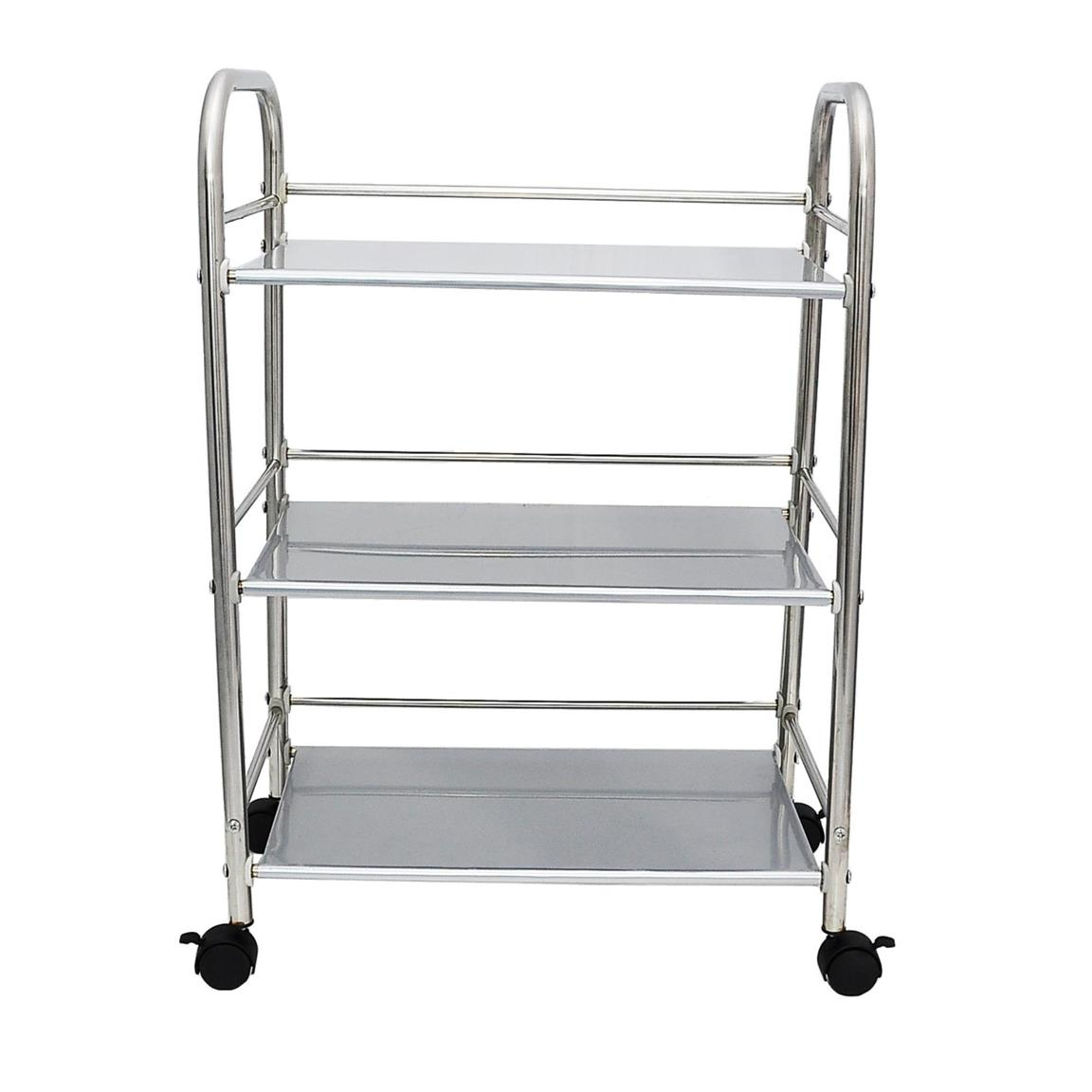 Stainless Steel 3 Tier Serving Trol (end 6/19/2019 12:16 PM)