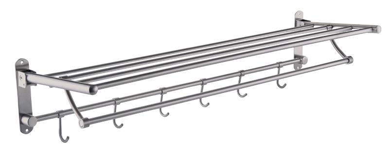 stainless steel bathroom accessories towel rack 80cm duva2780