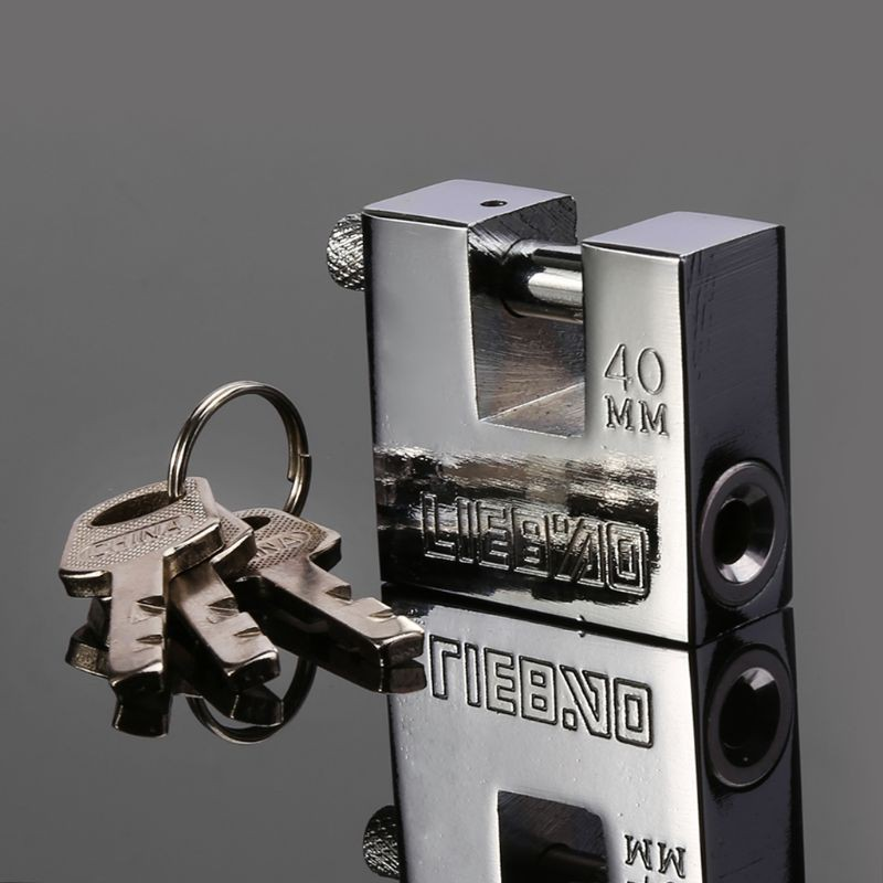 Stainless Steel Burglar Padlock Security Safety Lock Antique  - [70MM]
