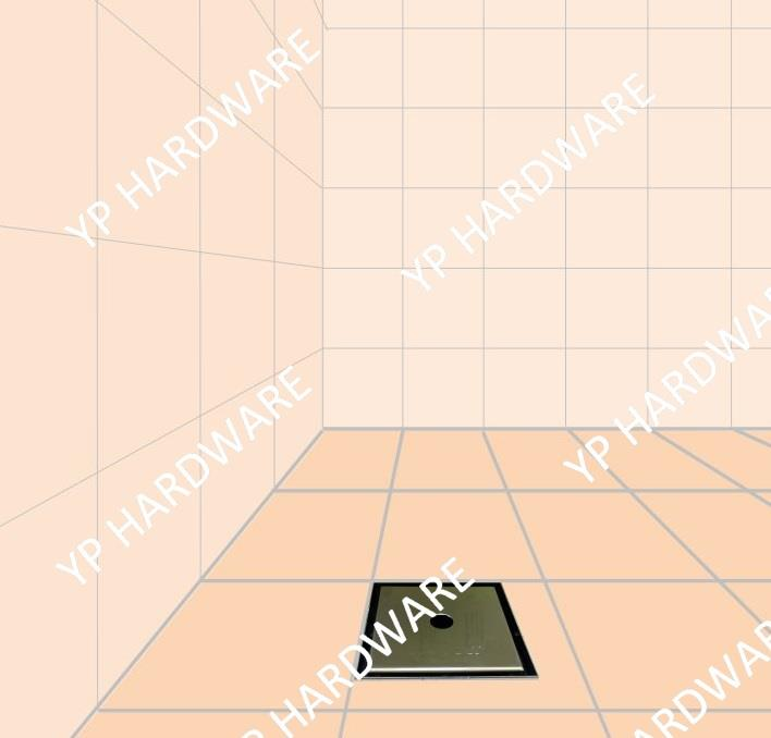 Stainless steel concealed Floor trap / pc