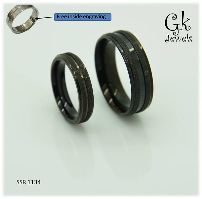 stainless steel couple ring (per pair) SSR 1134