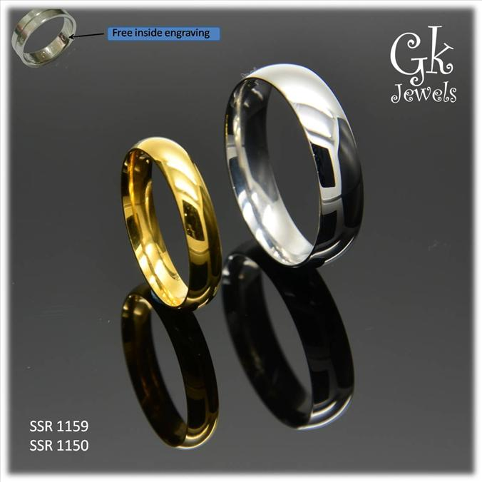 stainless steel couple ring (per pair) SSR 1159,SSR 1150