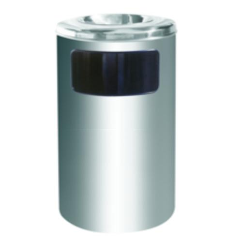 Stainless Steel Dustbin Round Ashtray Top RAB040SS FOC Delivery No GST