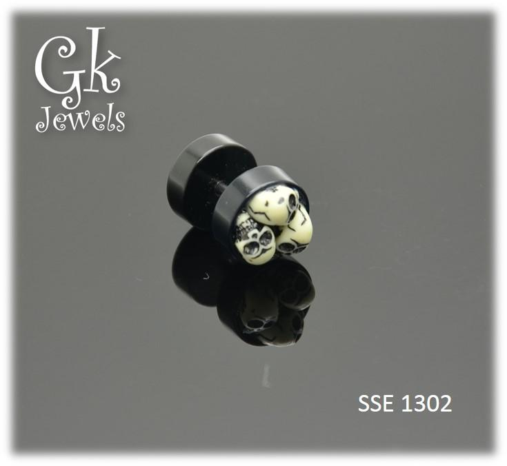 Stainless steel Earring SSE 1302 (8mm)