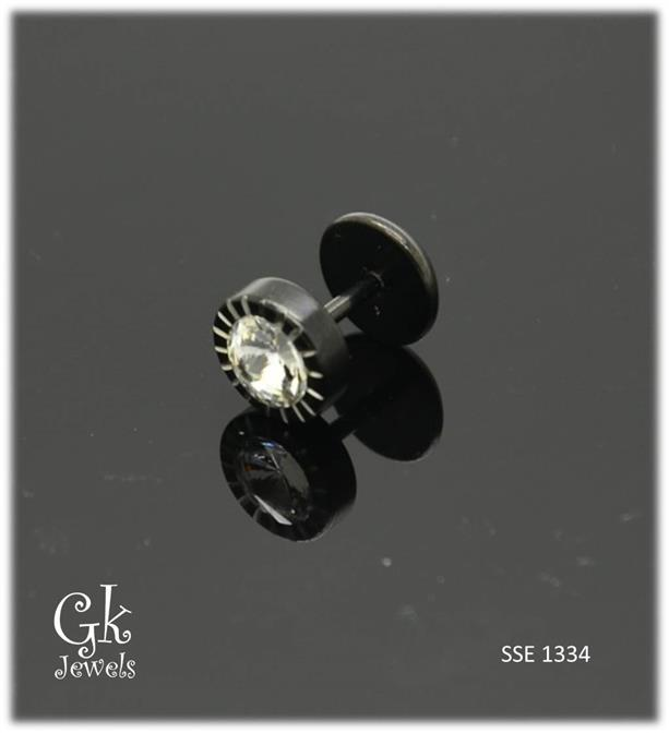 Stainless steel Earring SSE 1334 (8mm)