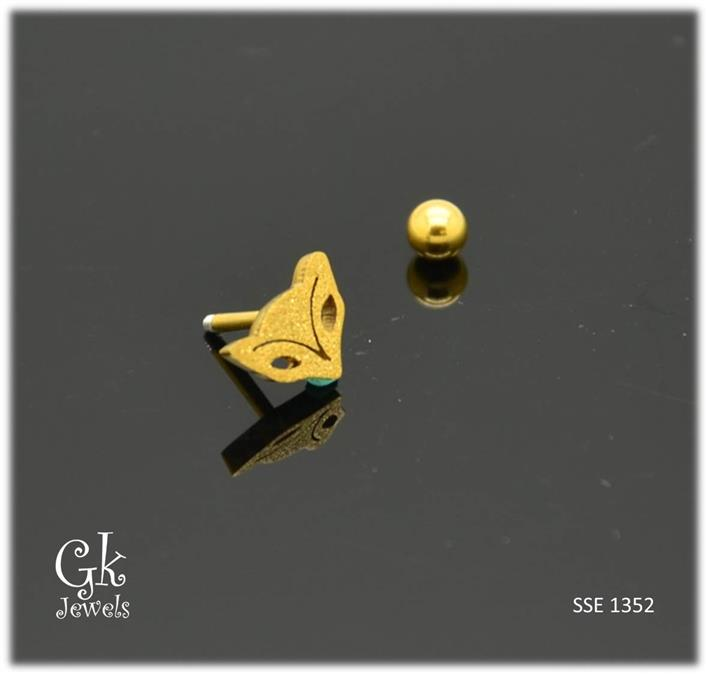 Stainless steel Earring SSE 1352 (7mm)