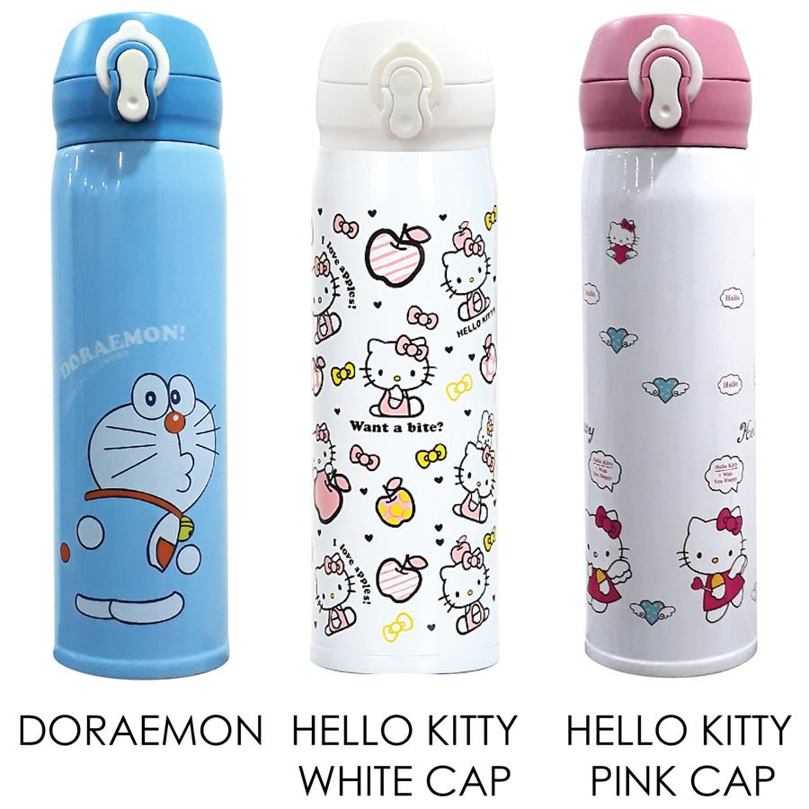 3a888b22a2 Stainless Steel Flask Thermos Water Bottle Portable 500ML Cute Cartoon