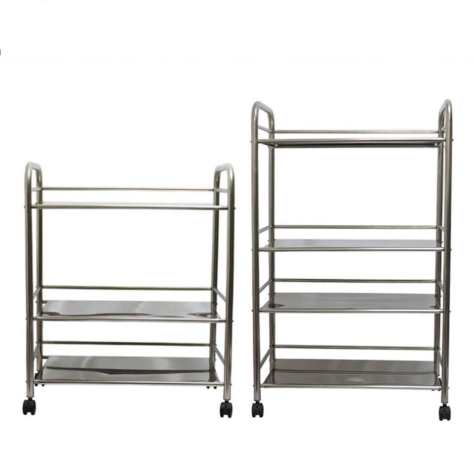 Stainless Steel Kitchen Rack Shelves Catering Storage With Heavy Duty