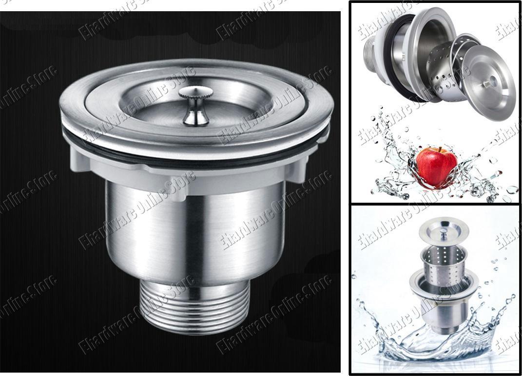 Stainless Steel Kitchen Sink Drain S (end 9/16/2018 6:00 AM)