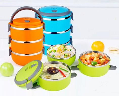 Stainless Steel Lunch Box (3 layer)