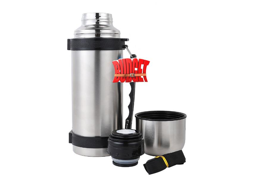 Stainless Steel Power Handy Bottle Hot Cold Vacuum Flask Thermos