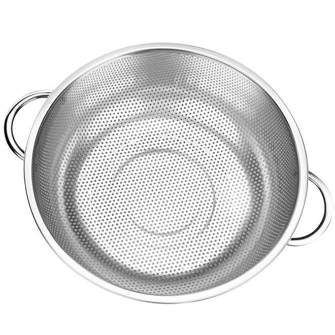 stainless steel strainer basket food basket 31cm - Strainer Basket