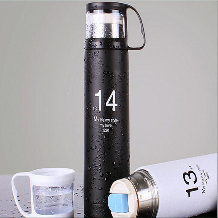 Stainless Steel Travel Mug Tea Water Flask Vacuum Thermos Cup Bottle