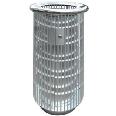 Stainless Steel Round Waste Bin Open Top RAB147OT 530mm(Dia)x975mm(H)