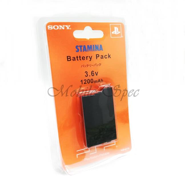 STAMINA SONY PSP 1000 2000 3000 BATTERY PACK 1200mAh 3.6v
