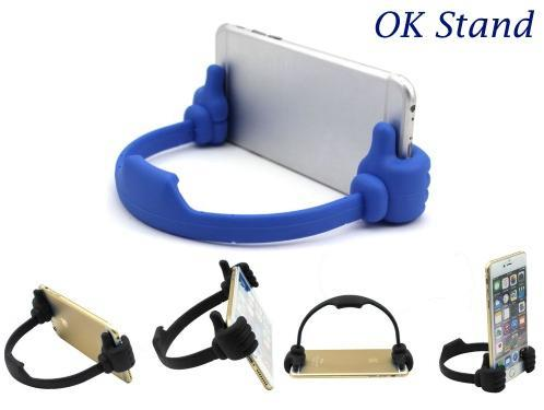 OK Stand Flexible Thumb For Mobile Phone And Tablet Iphone 4 5 6 6Plus