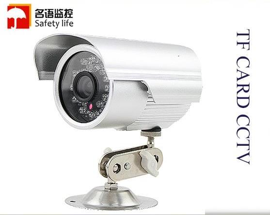 STANDALONE CCTV OUTDOORSurveillance camera SD card night vision