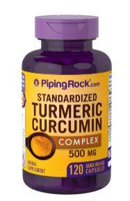 Standardized Turmeric Curcumin Complex, 500 mg (120 Caps)