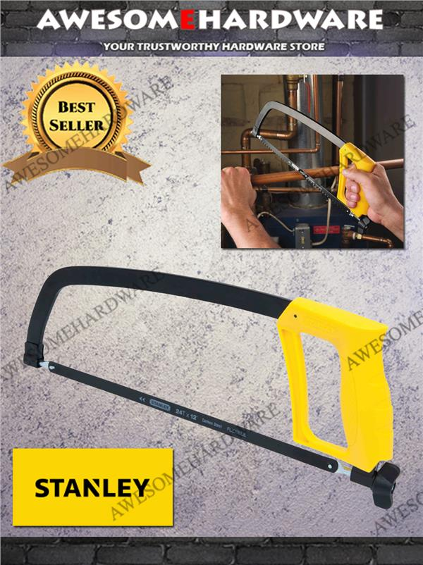 "STANLEY 12"" 20138 SOLID HACKSAW SAW SET"