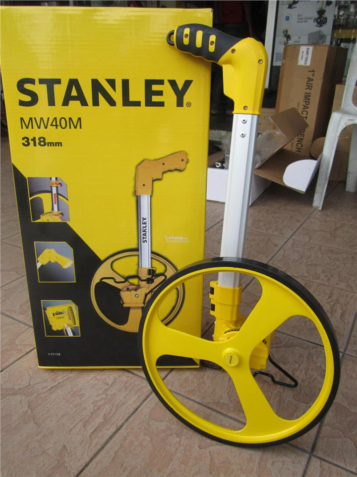 Stanley 318mm (12') Counter Measuring Wheel