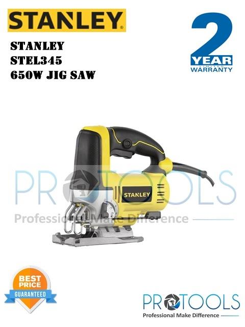 STANLEY STEL345 650W JIG SAW - 2 years warranty
